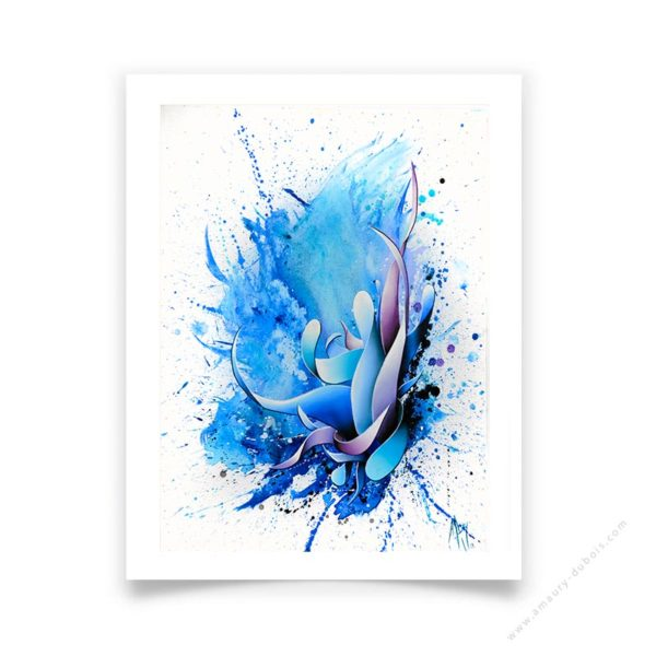 blue contemporary Limited Editions & Art Prints
