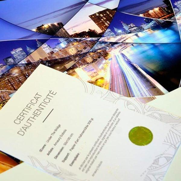 New york Brooklyn Bridge signed art prints