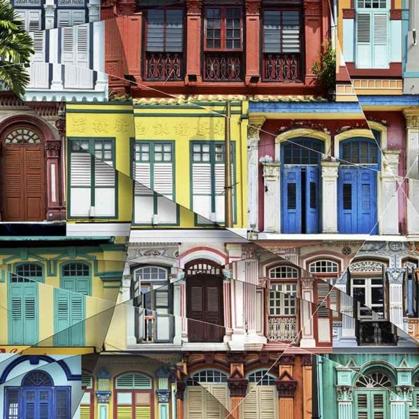 Singapore Street limited edition photo prints numbered and signed by artist