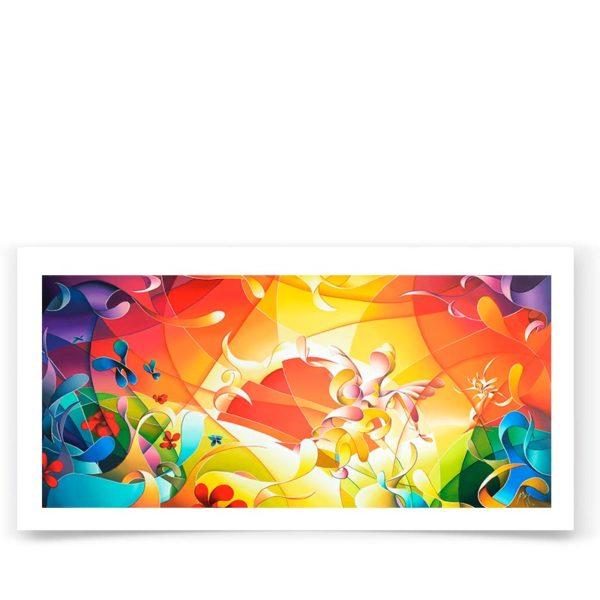 Multicolor fine art print