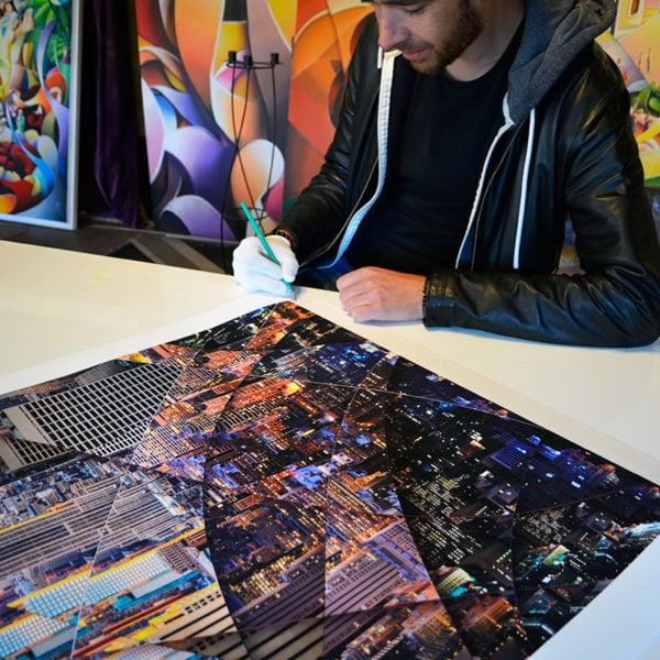 New York Empire State Building signed and limited Art photography