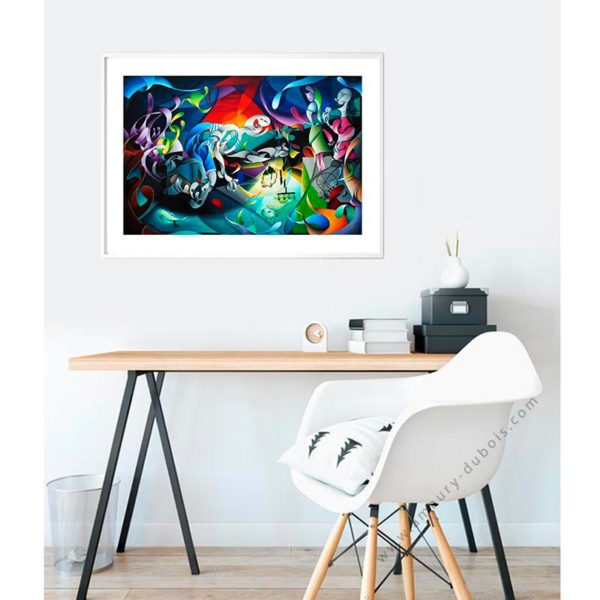picasso limited signed art print