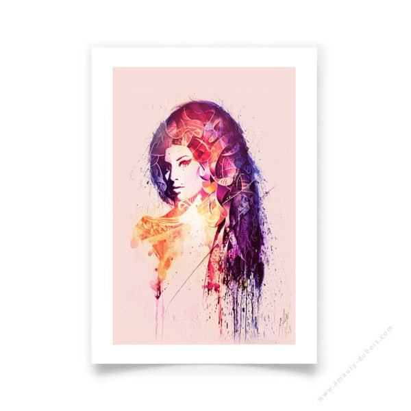 Affiche d'art signée et numérotée à la main d'Amy Winehouse