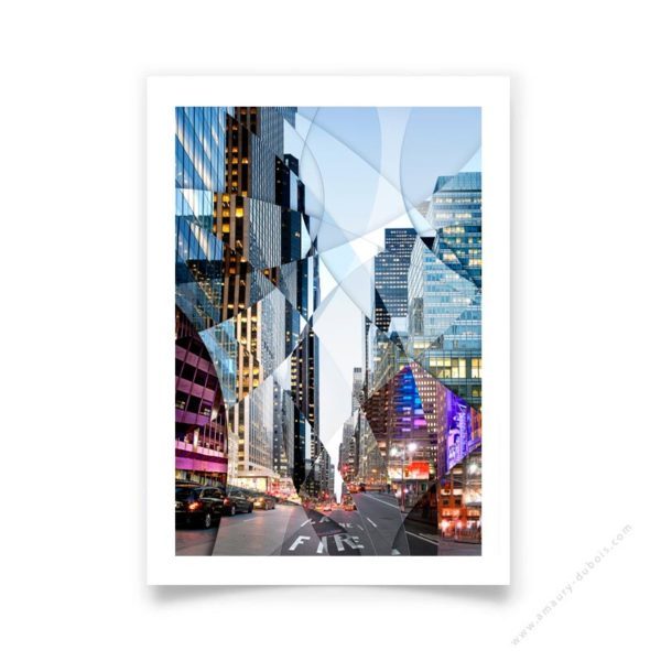 Art photography New York Street signed and limited