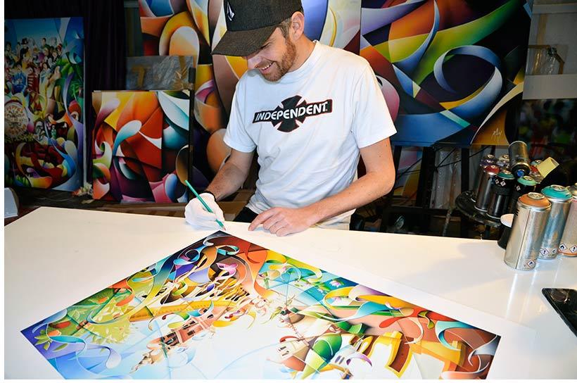 Affiches d'art limitées et signées par l'artiste peintre